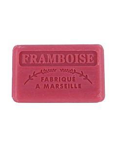 Fransk Marseille Tvål Framboise/Hallon 125g