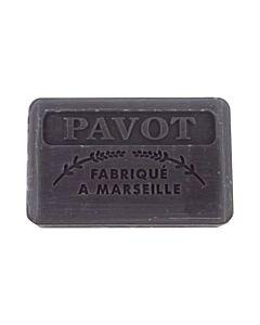 Fransk Marseille Tvål Pavot/Vallmo 125g
