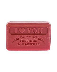 Fransk Marseille Tvål I Love You 125g