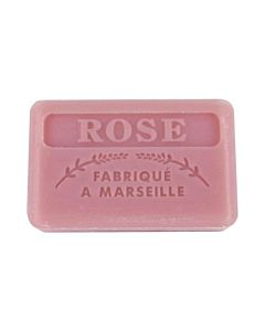 Fransk Marseille Tvål Rose 125g