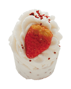 Bomb Cosmetics Minimuffins Wild Strawberries 50g