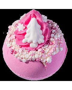 Bomb Cosmetics Badbomb Pink Christmas 160g