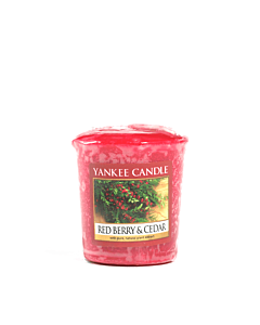 Yankee Candle Red Berry & Cedar Votivljus Sampler