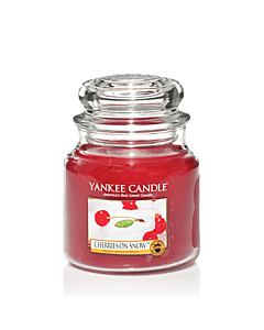 Yankee Candle Medium Jar Cherries On Snow
