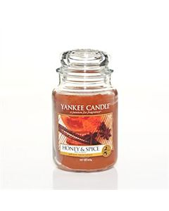 Yankee Candle Honey & Spice Large Jar