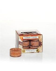 Yankee Candle Honey & Spice Tealights