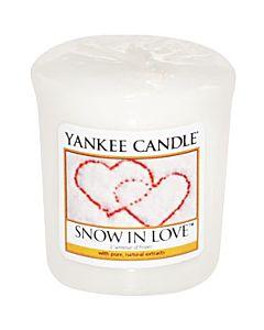 Yankee Candle Snow in Love Votivljus