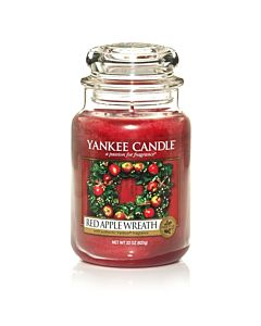 Yankee Candle Red Apple Wreath Large Jar