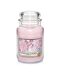 Yankee Candle Large Jar Snowflake Cookie