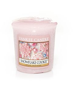 Yankee Candle Snowflake Cookie Votivljus
