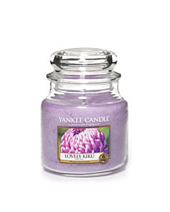 Yankee Candle Lovely Kiku Medium Jar