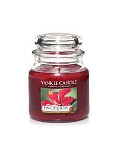 Yankee Candle Pink Hibiscus Medium Jar