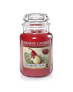 Yankee Candle Cranberry Pear Large Jar