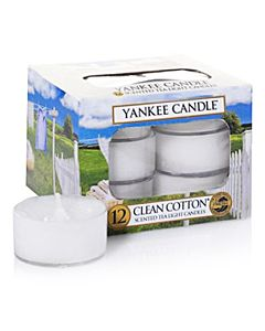 Yankee Candle Clean Cotton Tealight