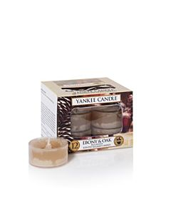 Yankee Candle Ebony & Oak Tealights