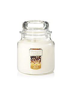 Yankee Candles All Is Bright Medium Jar