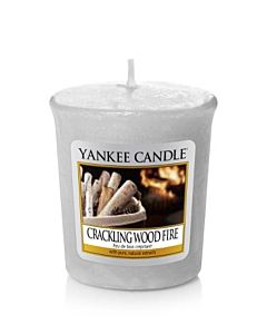 Yankee Candle Crackling Wood Fire Votivljus/Sampler