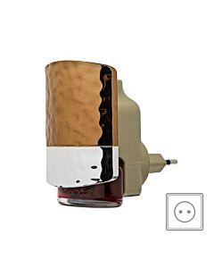 Yankee Candle Elektrisk Luftfräschare Scent Plug Front Hammered Copper