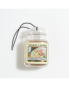 Yankee Candle Christmas Cookie Car Jar