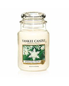 Yankee Candle Large Jar Sparkling Snow