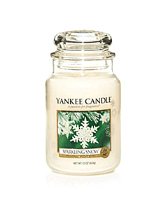 Yankee Candle Large Jar Sparkling Snow