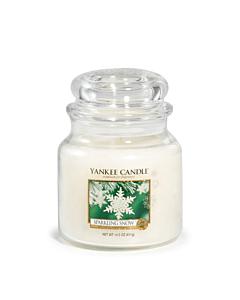 Yankee Candle Medium Jar Sparkling Snow