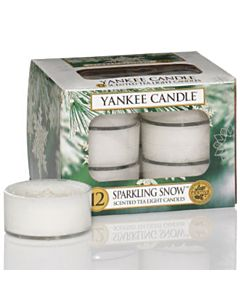 Yankee Candle Tealight Sparkling Snow