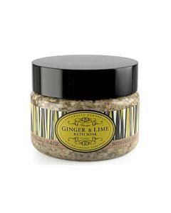 Bath Soak Salts/Badsalt Ginger & Lime 550g