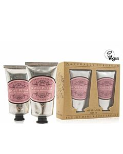 Luxury Hand and Foot Cream Rose 2x75ml