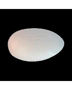 Terra Midi Gåsäggstvål Mandelmjölk