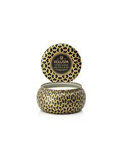 Voluspa Verveine Olive Leaf 2-Wick Maison Metallo Candle