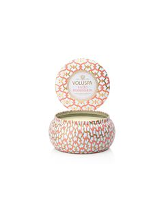Voluspa Saijo Persimmon 2-Wick Maison Metallo Candle