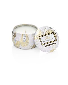 Voluspa Panjore Lychee Decorative Tin Candle