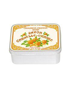 Le Blanc Tvål Kanel-Apelsin i Plåtask 100 g