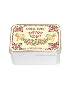 Le Blanc Tvål Ros i Plåtask 100 g