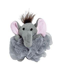 Duschpuff Elefant