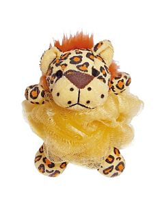 Duschpuff Leopard
