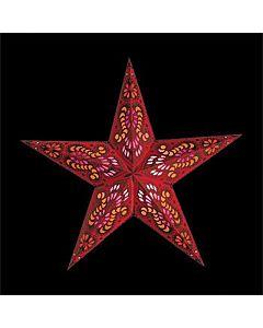 Julstjärna Mercury Red