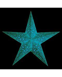 Julstjärna Mono Turquoise