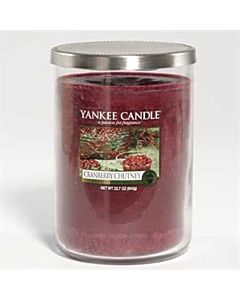 Yankee Candle 2-wick Cranberry Chutney Tumbler