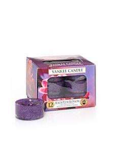 Yankee Candle Tealight Black Plum Blossom