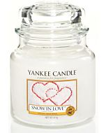 Yankee Candle Small Jar Snow in Love