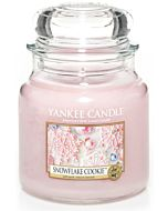 Yankee Candle Medium Jar Snowflake Cookie