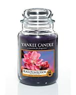Yankee Candle Black Plum Blossom Large Jar
