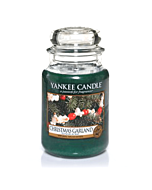 Yankee Candle Christmas Garland Large Jar