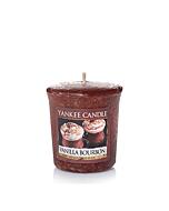 Yankee Candle Vanilla Bourbon Votivljus/Sampler