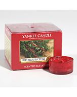 Yankee Candle Red Berry & Cedar Tealight